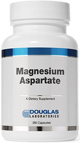 Douglas Laboratories  Magnesium Aspartate  Supports Normal Heart Function Blood Pressure and Bone Formation  250 Capsules *** Visit the image link more details.
