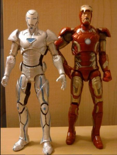 Superior Iron Man (Marvel Legends) Custom Action Figure ...