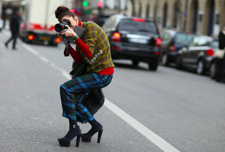 photograph: Street Fashion, Fashion Photographers, Paris Fashion Week, Fashion Style, Street Style, 2012 Street, Mixed Plaid Paris Jpg, Fashion Inspiration, Street Chic
