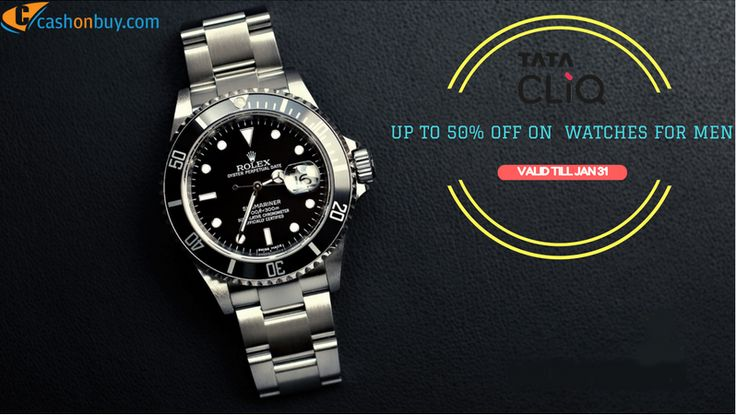 Upto 50% off on #Watches for #Men #cashonbuy #cashback #comparison #discount #price_comparison #shopping #lifestyle #likeforlike #cool #likeus