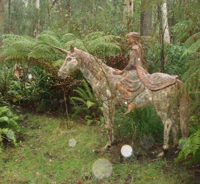 Bruno torf 39 s fantasy garden sculptures fae dreaming for Irish garden designs