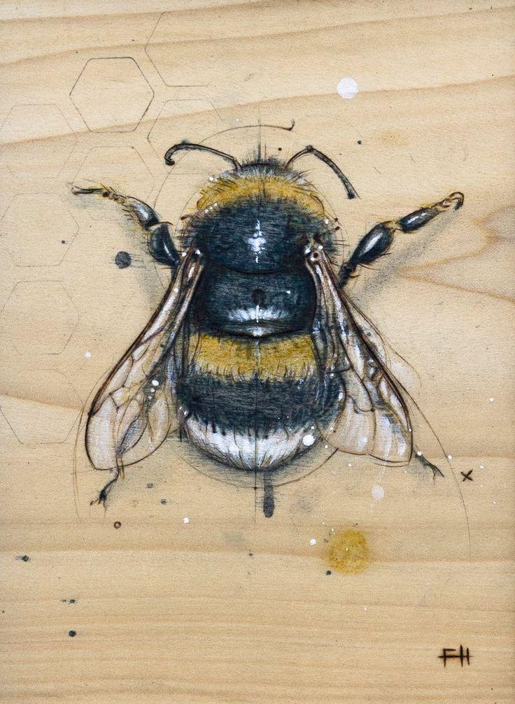 """bee #2""   fay helfer"
