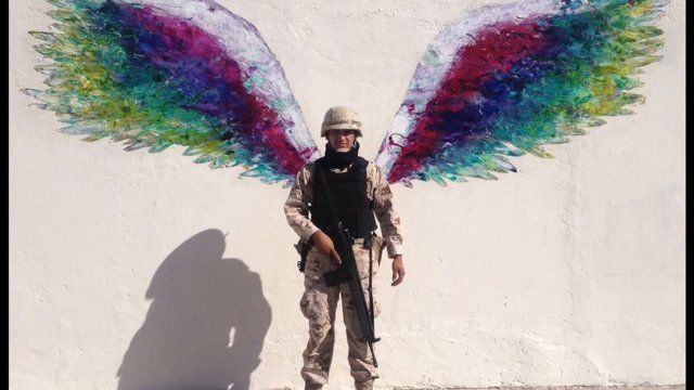 Colette Miller's  Global Angel Wings Project takes her to destitute areas of Kenya where she friends a boxing club .