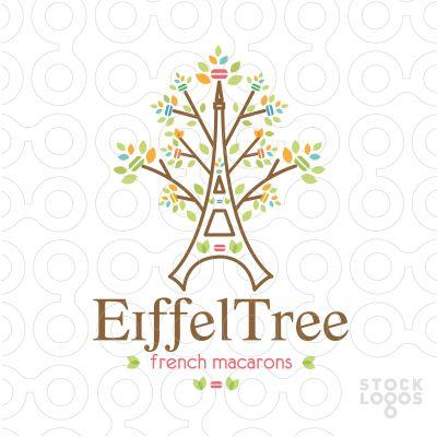 #Eiffel #Macarons #Tree