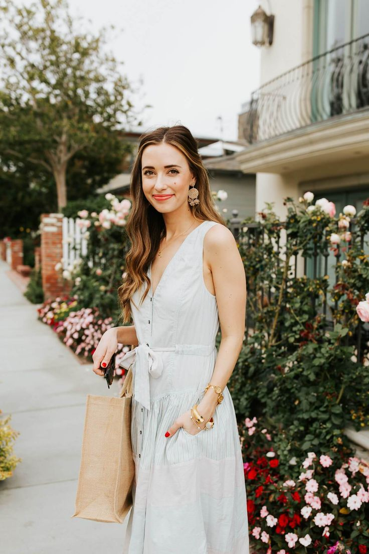 The Perfect Cotton Summer Dress