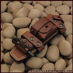 Leather Sheath for the Ka-Bar Classic Combat Knife.  Quite intrigued by a sheath that costs more than the knife...