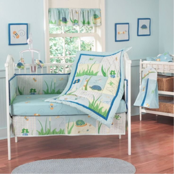 Bee My Baby Crib Bedding
