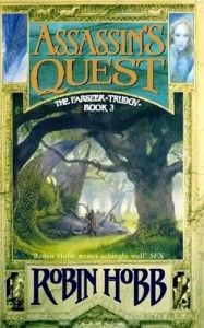 Farseer Trilogy #3: Assassin's Quest by Robin Hobb. Mass market paper back $7.99.