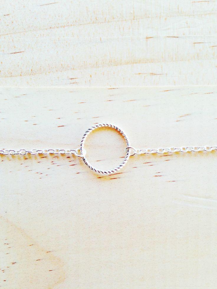 Eternity Circle Love bracelet | Felt