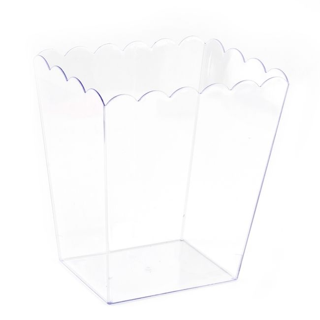 CLEAR Plastic Popcorn Container - 90oz