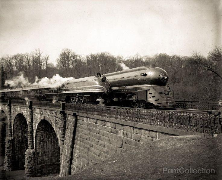 Streamlined Locomotives on the B&O