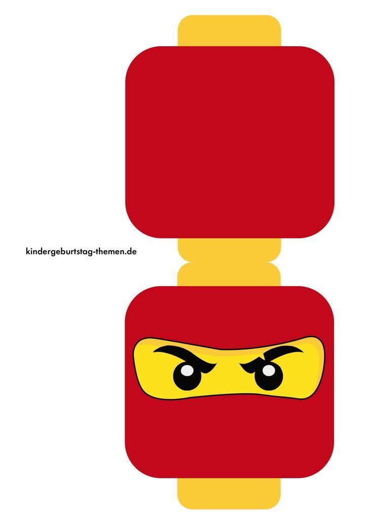 Ninjago Einladungskarten Zum Kindergeburtstag 1