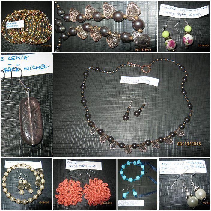 """Oricine poate confecționa bijuterii handmade… ai nevoie doar de răbdare, timp și materiale, dar dacă simți că nu ai talent sau răbdarea necesară, te aștept să vizitezi """"Arta lucrului de mână""""!"""