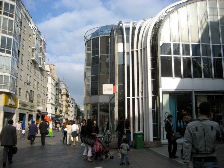 Les Halles Shopping Center in Paris: Shops, Movie Theaters, and More