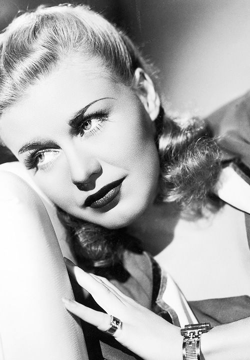 Ginger Rogers originally a red head before going platinum blonde