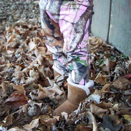 Pink Camo Headband/Leggings Set