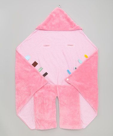 This 36'' x 44'' Pink Car Seat Blanket is perfect! #zulilyfinds