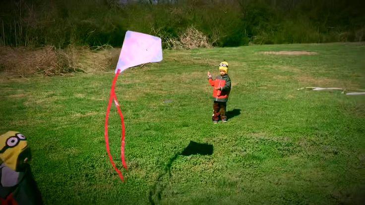 Kite Flying Day - Star Wars & Lighting McQueen - YouTube