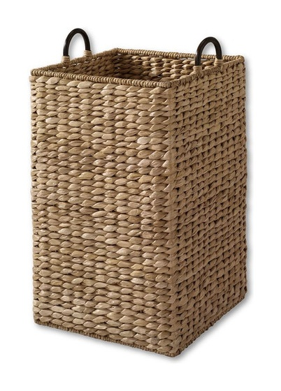 Large Grand Portage Seagrass Bin - tropical - waste baskets - Lands' End