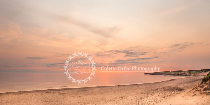 Sunrise at the Beach Photography Backdrop. Early morning sunrise at Cavendish Beach, PEI. To order backdrop visit www.backdropscanada.ca