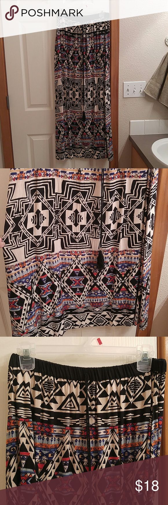Angie aztec maxi skirt Soft and light. Angie Skirts Maxi