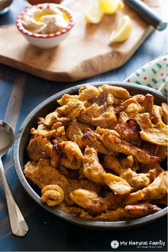 Chicken Shawarma Recipe (Paleo, Gluten Free, Clean Eating, Dairy Free) - This is a simple preparation of a complicated Middle Eastern dish and it's full of unique flavor.