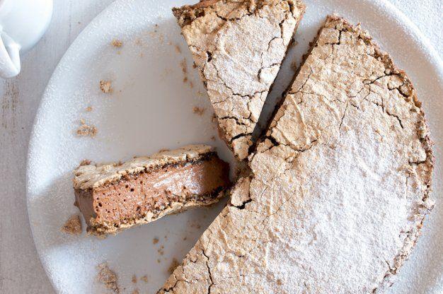 Pusinkový moka dort | Apetitonline.cz