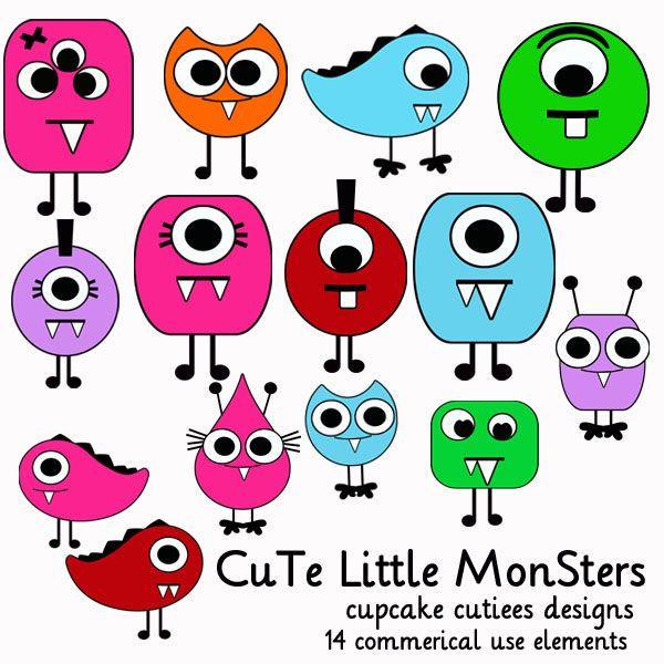 140 best cute litlle monsters images on pinterest