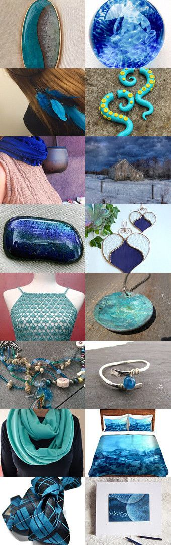 April Water Works by Elise B. on Etsy--Pinned with TreasuryPin.com