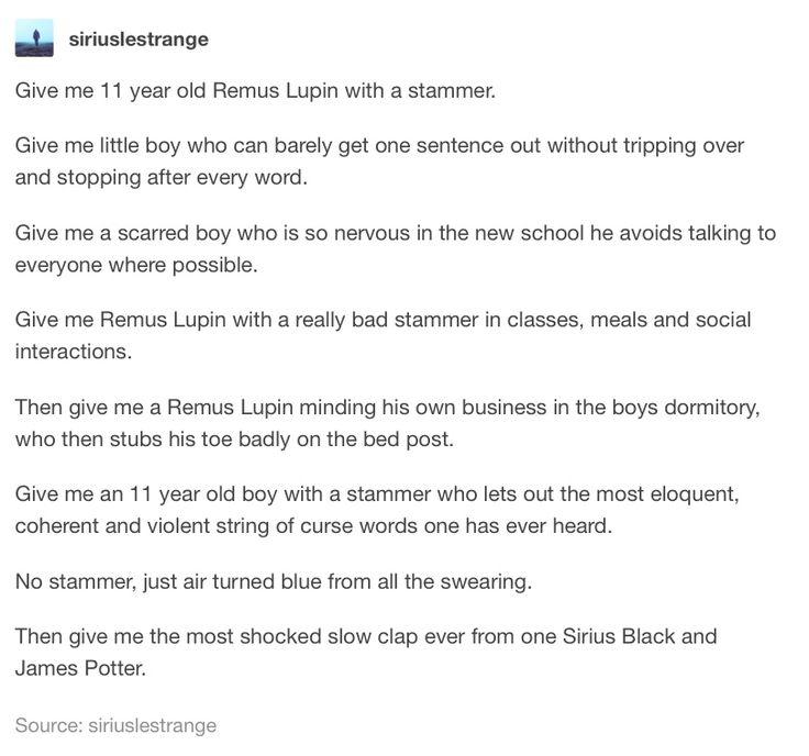 Remus Lupin - The Marauders