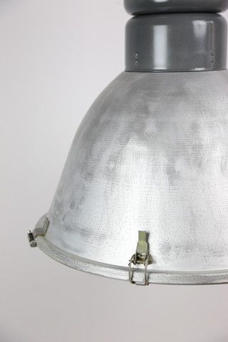 Tall factory lamp