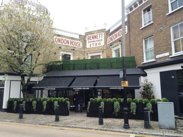 london house outside gordon ramsay london house battersea. Black Bedroom Furniture Sets. Home Design Ideas