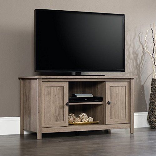 Wood Furniture Tv Stand Media Storage Cabinet Console Entertainment Oak  #Sauder#TV,#Stand,#Gaming,#Entertainment,#Media,#Furniture,#Home,#Theater,#Storage