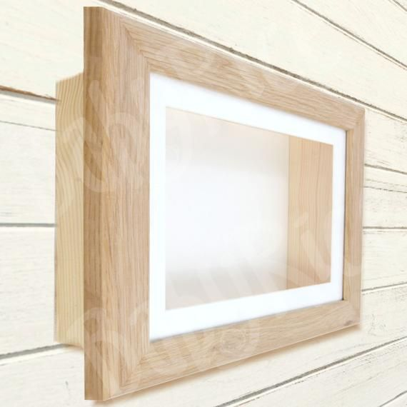 Solid Oak Pine Wood Deep Shadow Box Display Frame For 3d Objects Casts Handmade In Uk Various Sizes Mount Options Bespoke Orders Welcome Deep Shadow Box Wooden Shadow Box Box