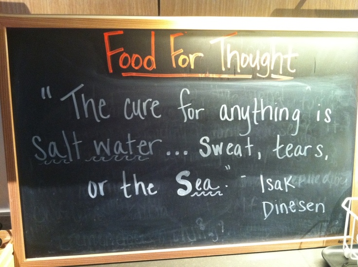 25+ Great Ideas About Salt Water Quotes On Pinterest