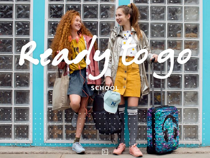 You go girl! Are you and your BFF ready for the next  schoolyear? Get ready for school with your newest bag!
