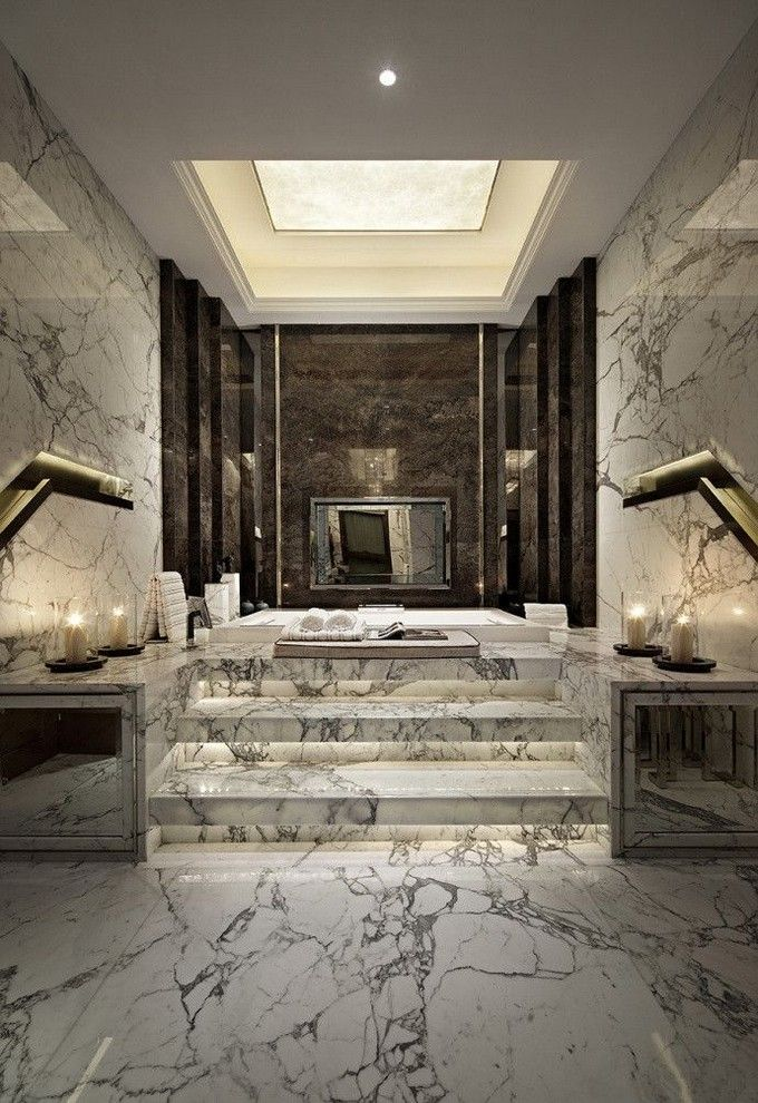 Luxurious Bathroom Designs Gorgeous Best 25 Luxury Bathrooms Ideas On Pinterest  Amazing Bathrooms . Decorating Design