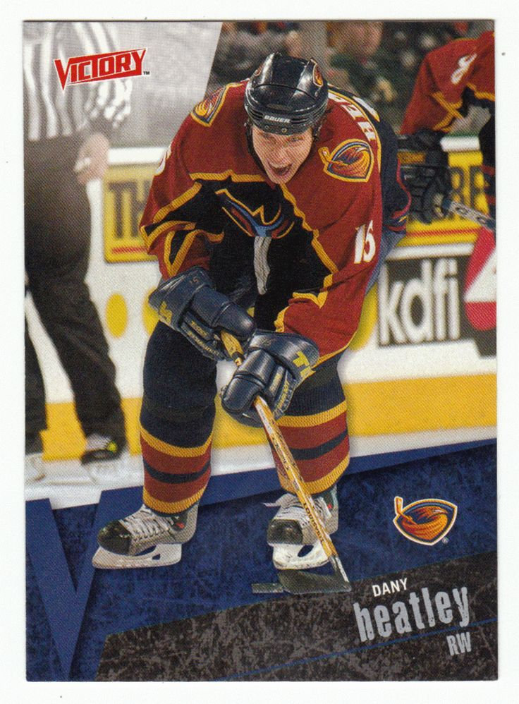 Dany Heatley # 6 - 2003-04 Upper Deck Victory Hockey