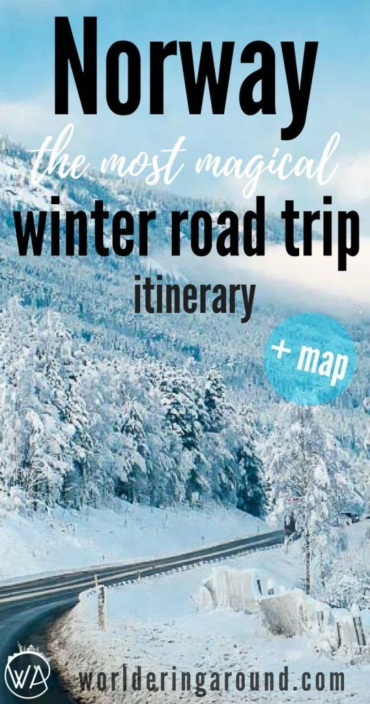 Try epic Norway winter travel with this 5 day roadtrip itinerary covering true winter wonderland adventures. Starting from Oslo and covering the most scenic routes in Norway with Norway in the Nutshell and UNESCO fjords, it's a perfect idea for winter holidays in Norway. | Worldering around