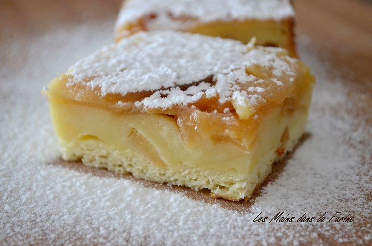 gâteaux magique au pommes caramelisées – sylvie