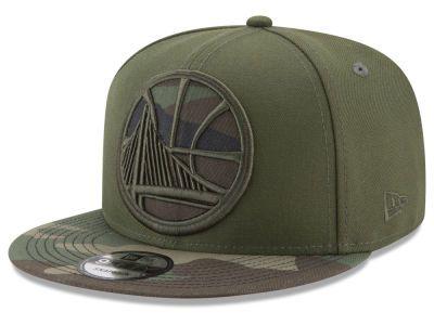 Golden State Warriors New Era NBA Operation Camo 9FIFTY Snapback Cap