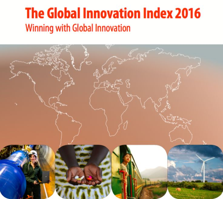 India has ranked 66th in the 2016 Global Innovation Index (GII). In this edition, India has jumped up by 15 spots from 81st position in 2015 GII. The annual index was released by France-based international business school INSEAD and World Intellectual Property Organisation (WIPO), a specialized agency of the United Nations. The index ranks world …#globalinnovationindex #gii #insead #wipo #india