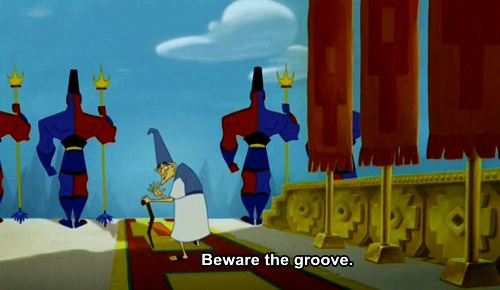 the emperor's new groove.