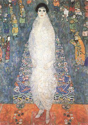 La baronne Elisabeth Bachofen-Echt, par Gustav Klimt - 1914-1916
