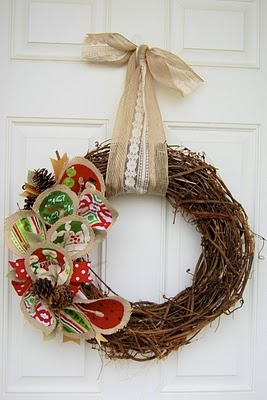 1 wreath all year. Interchangeable fabric