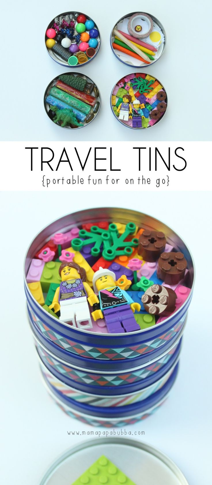 Craft kits for preschoolers - Travel Tins Car Activities For Kids Travelling With Kids Busy Bag