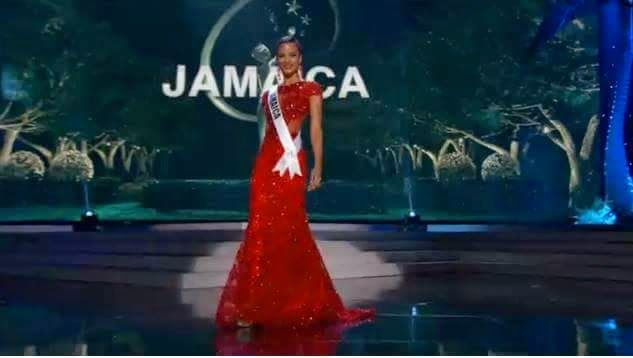 Kaci Fennell ahead of the Miss Universe 2015 Competition