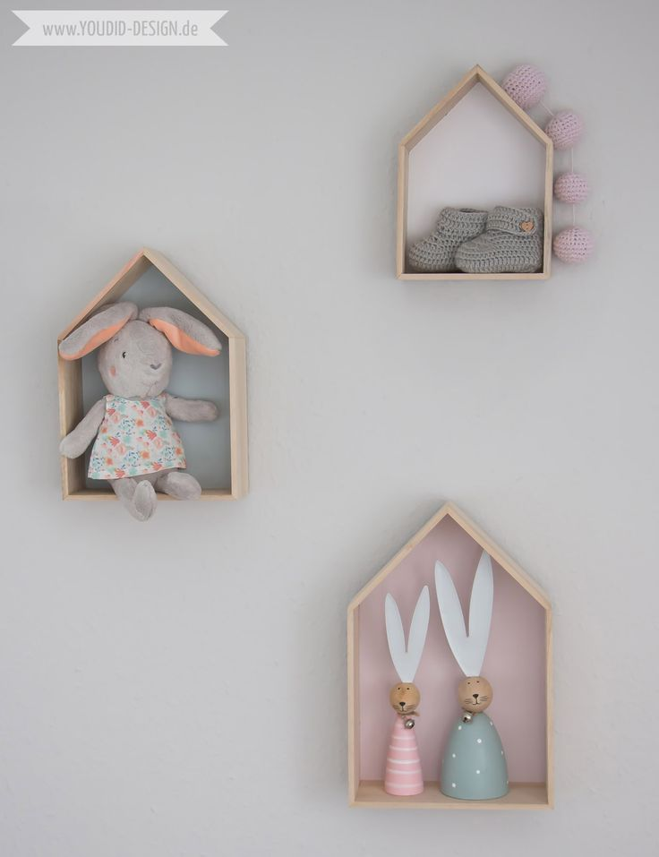 Inspiration for a scandinavian nursery Inspirationen für ein skandinavisches…