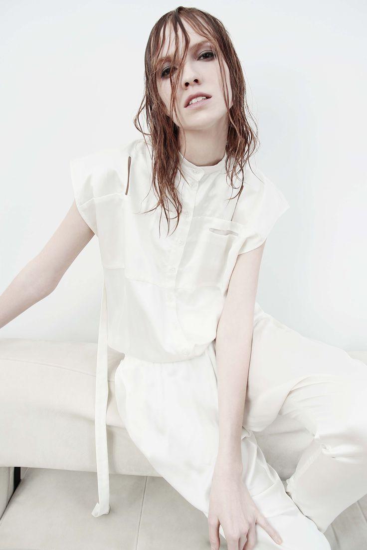silk cotton overall