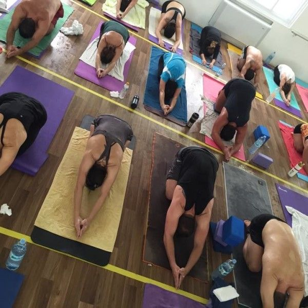 #Hot #Yoga Studio #Brazil